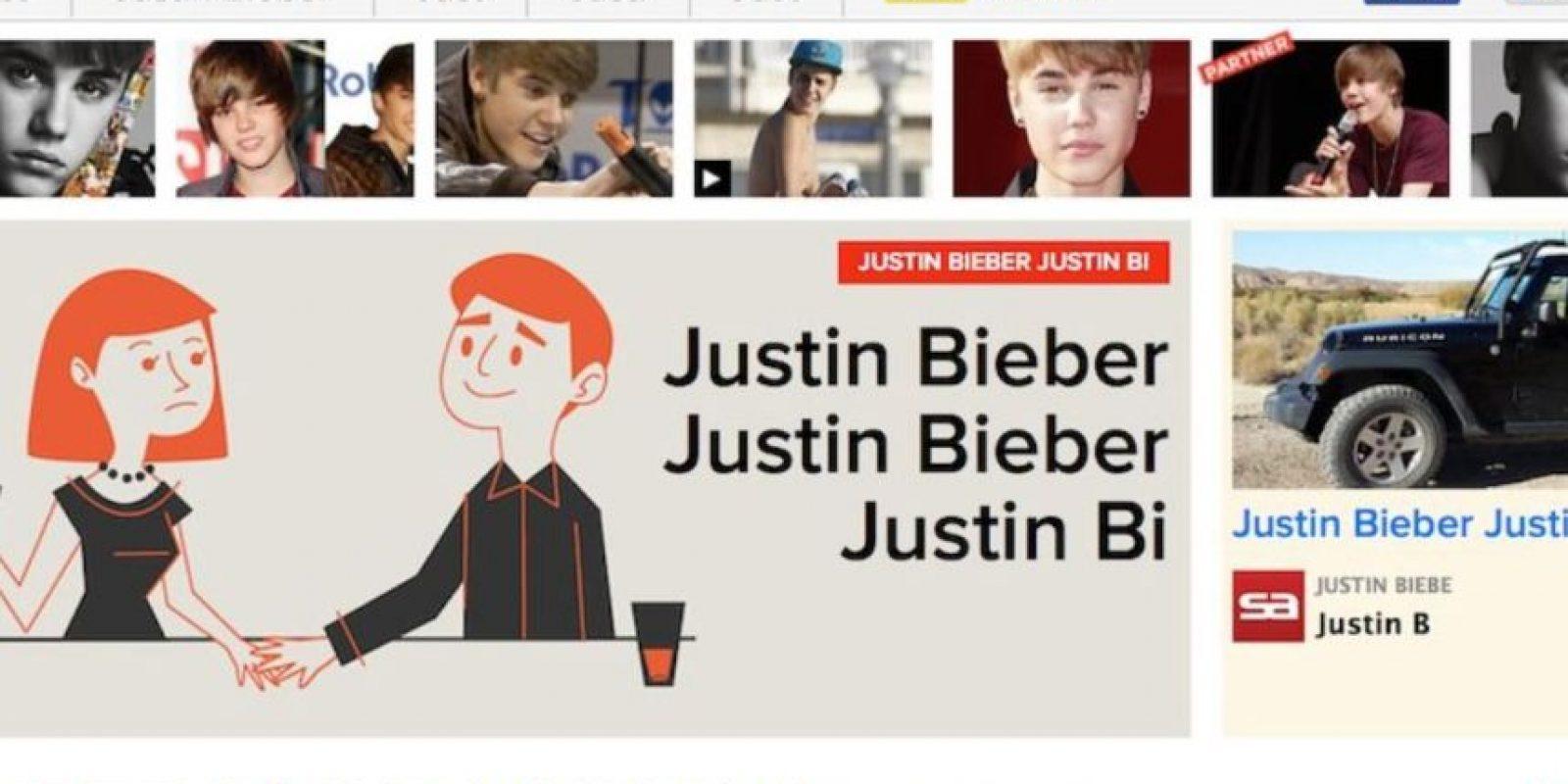 PLUS: Para todas las fanáticas de Justin Bieber, entren a buzfeed.com introduzcan el Código Konami y sean felices. Foto:Google