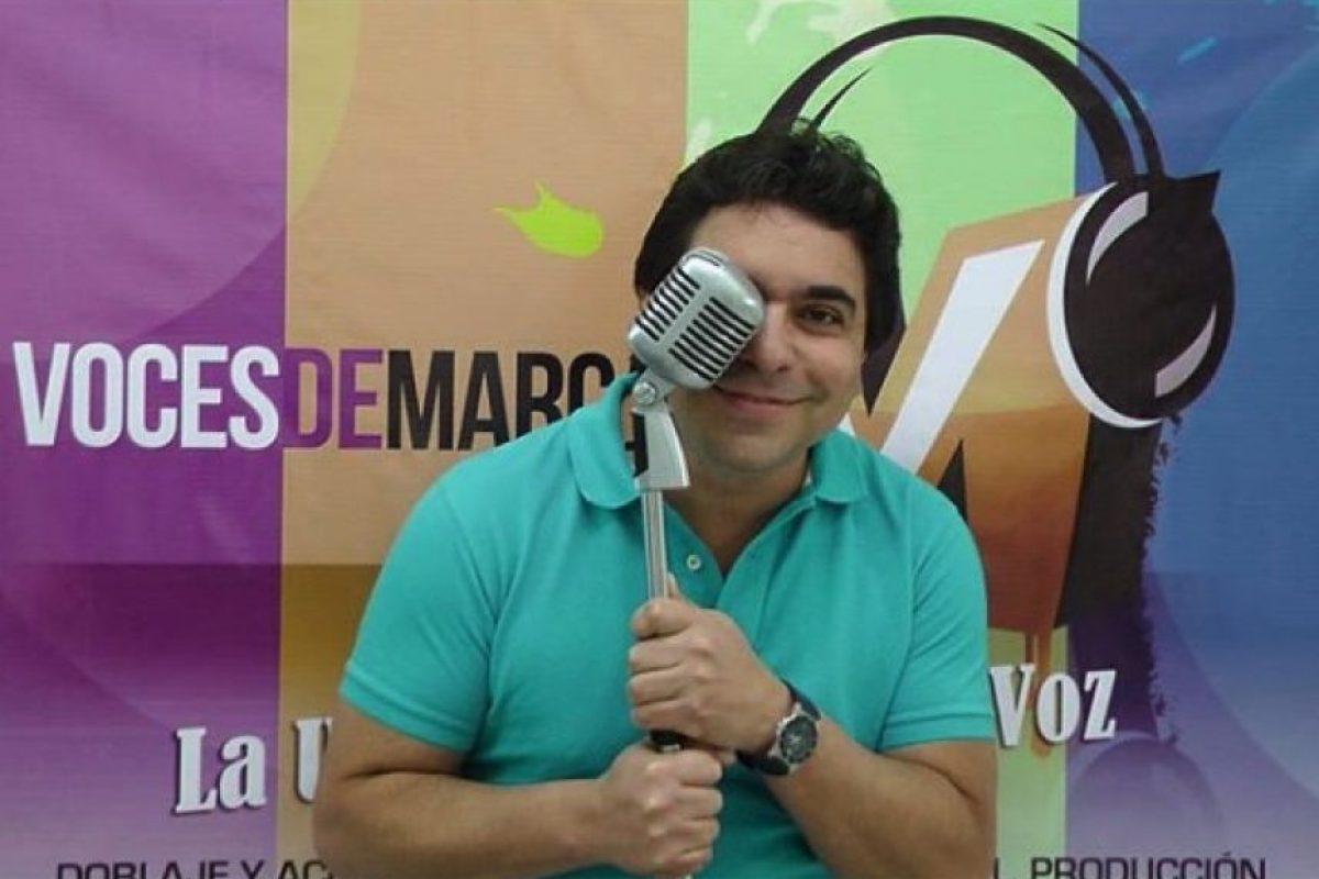 """El actor venezolano Frank Carreño le dio vida a """"Pinky"""", el despistado ratón de laboratorio. Foto:vía instagram.com/frankcarrenovoz"""