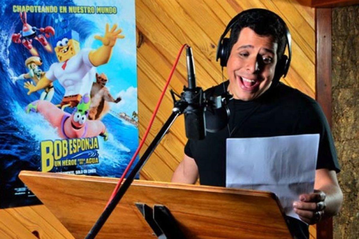 """El venezolano Luis Carreño es el dueño de la peculiar voz de """"Bob Esponja"""" Foto:vía twitter.com/luiscarreno1"""