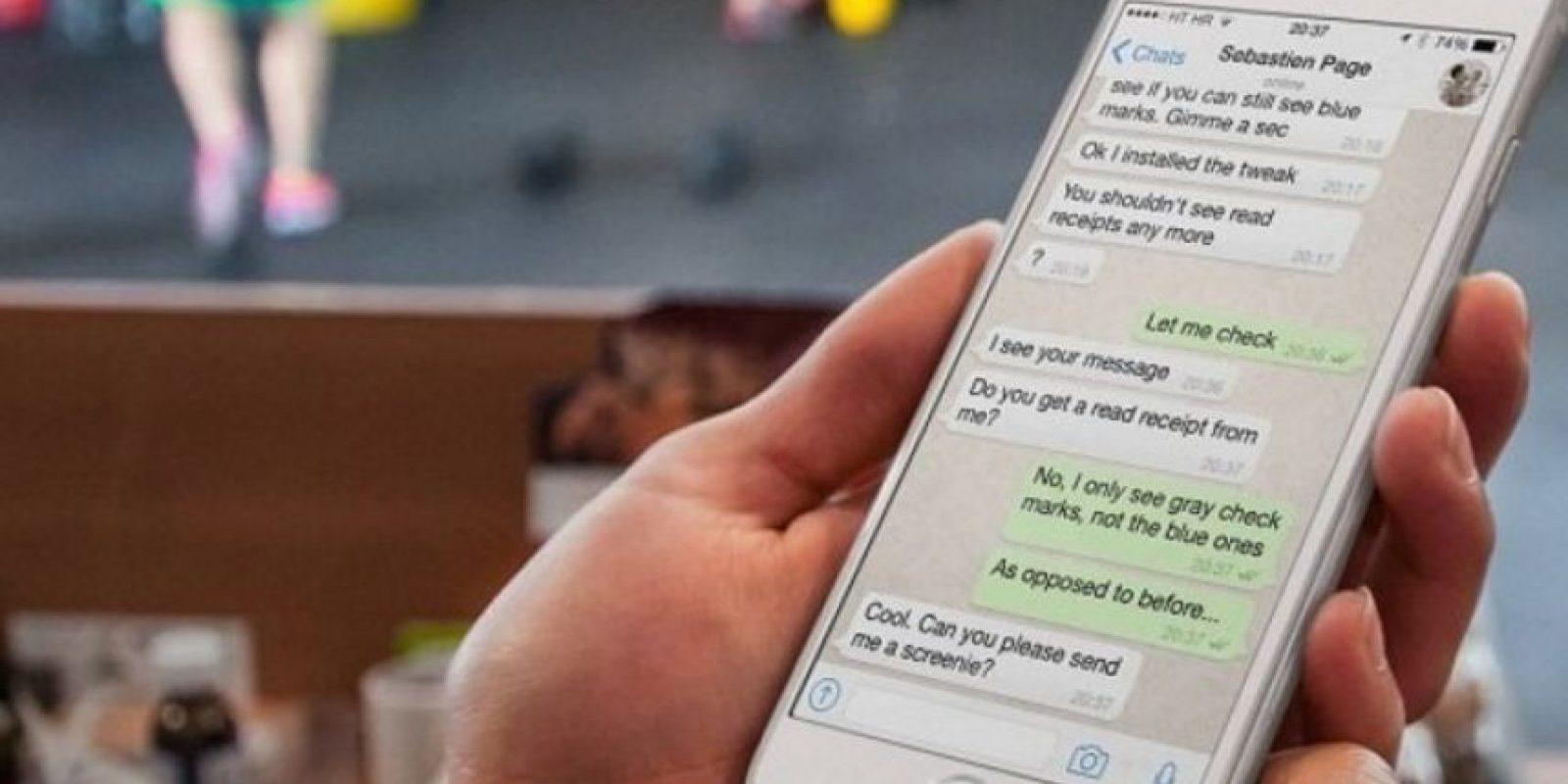 8- Borrado de mensajes más sencillo: pueden elegir a partir de una semana, un mes y hasta medio año. Foto:WhatsApp