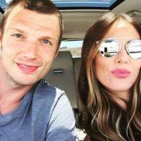 Su esposa Lauren Kitt confirmó su embarazo. Foto:vía instagram.com/nickcarter