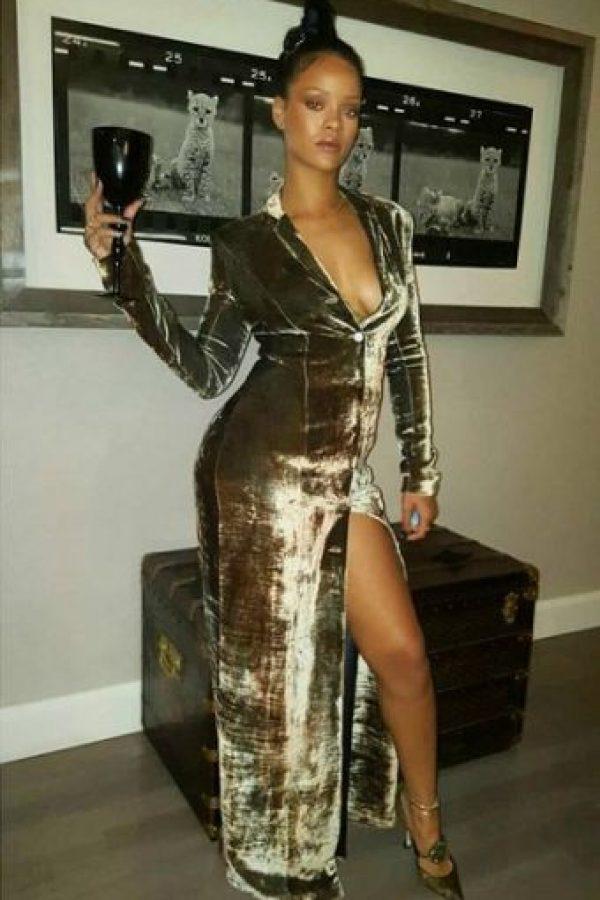Además, Melissa también aseguró en cuenta de Instagram que Rihanna fue la encargada de la cena. Foto:Instagram/mdollas11