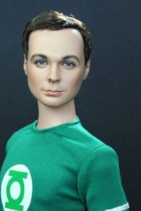 "Jim Parsons como ""Sheldon"" en ""The Big Bang Theory"". Foto: vía NoelCruz"