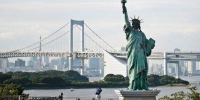 Existen réplicas en todo el mundo, por ejemplo, esta ubicada en Japón. Foto:Getty Images