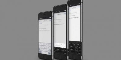Estaría integrado en el smartphone. Foto:vía Curved / YouTube