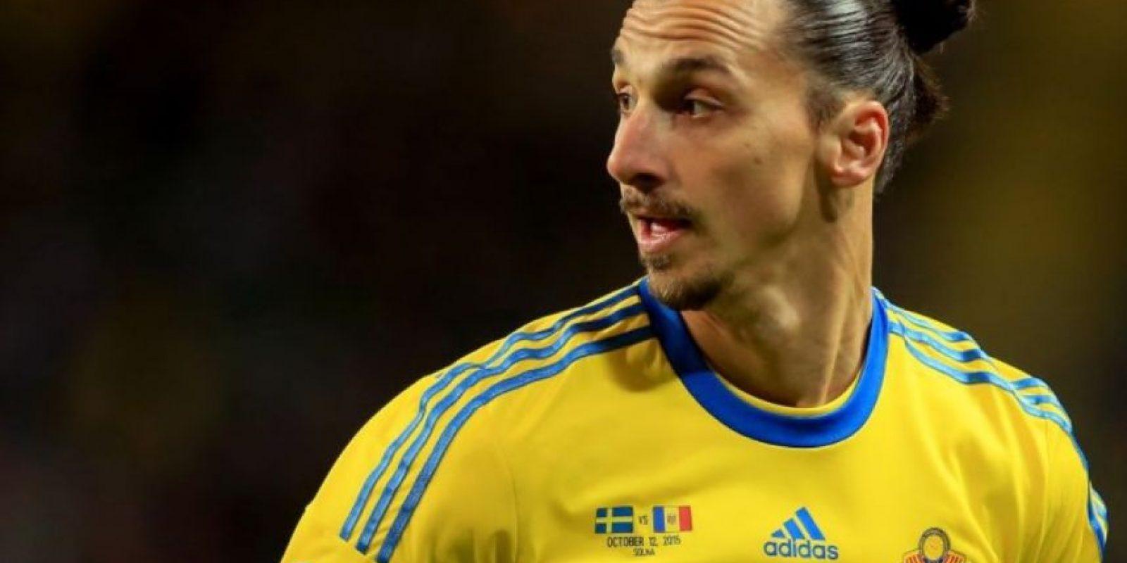 6. Zlatan Ibrahimovic (PSG/Suecia). Foto:Getty Images