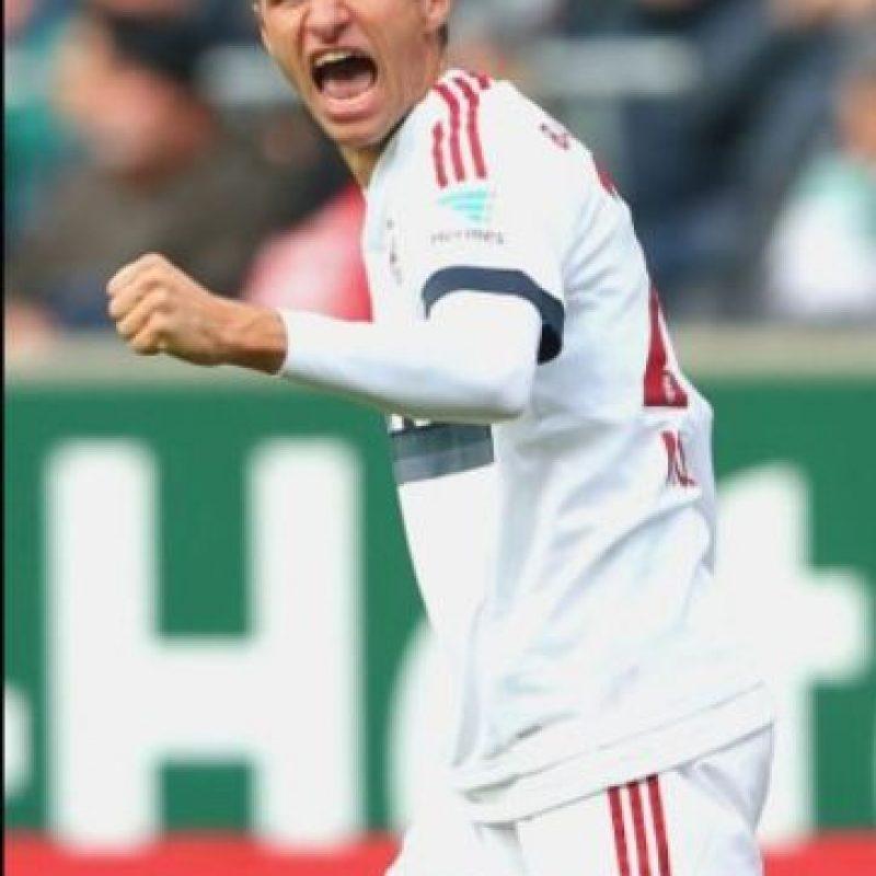 12. Thomas Müller (Bayern Munich/Alemania). Foto:Getty Images