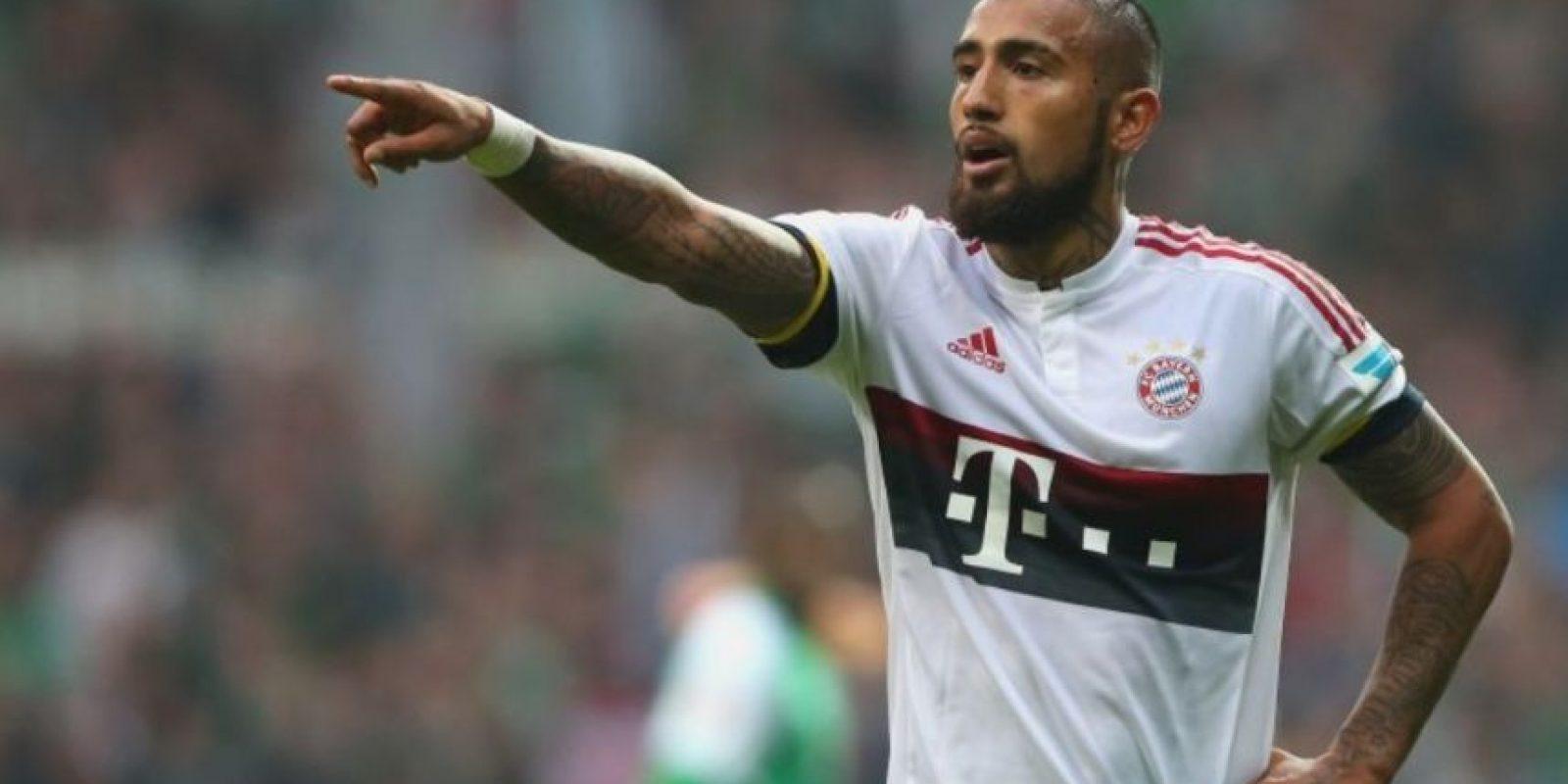 22. Arturo Vidal (Bayern Munich/Chile). Foto:Getty Images