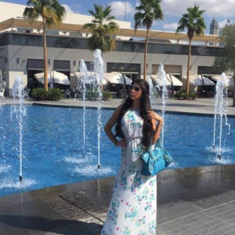 Estudió en French Fashion University Foto:vía instagram.com/yasmin.jaz