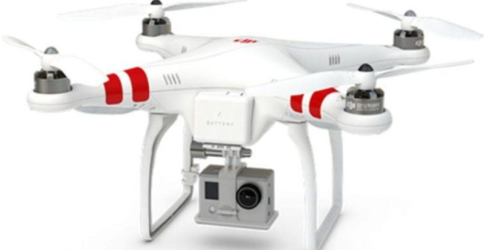 Phantom 1 es un modelo muy atractivo para los usuarios caseros. Foto:vía dji.com