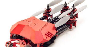 Steadidrone Flare. Este dispositivo se especializa en portar cámaras GoPro. Foto:vía webadictos.com