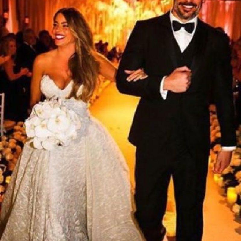 Sofía Vergara y Joe Manganiello se casaron el pasado 22 de noviembre Foto:vía instagram.com/joemanganiello