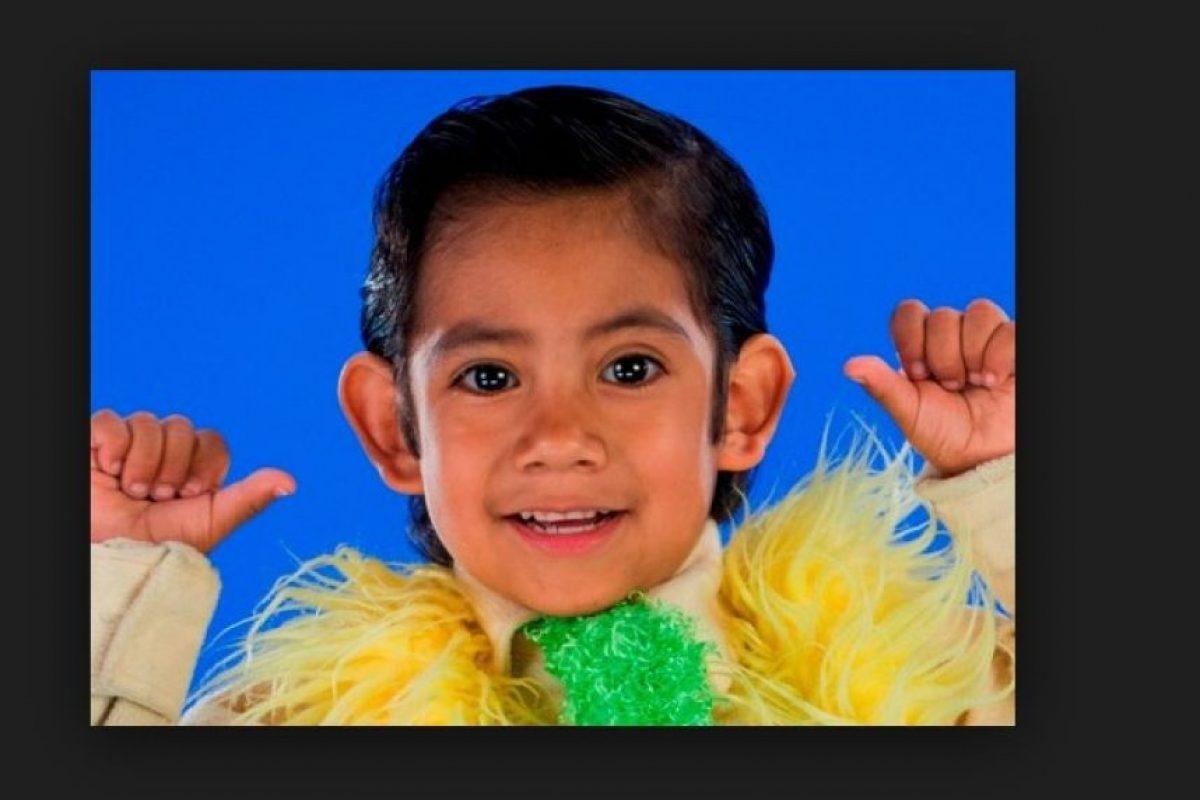 """Brayan Gibran Mateo interpretó al más pequeño de los """"P. Luche"""". Foto:vía Televisa"""