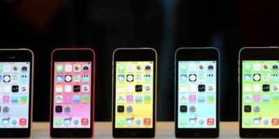 iPhone 5c (2013). Foto:Getty Images