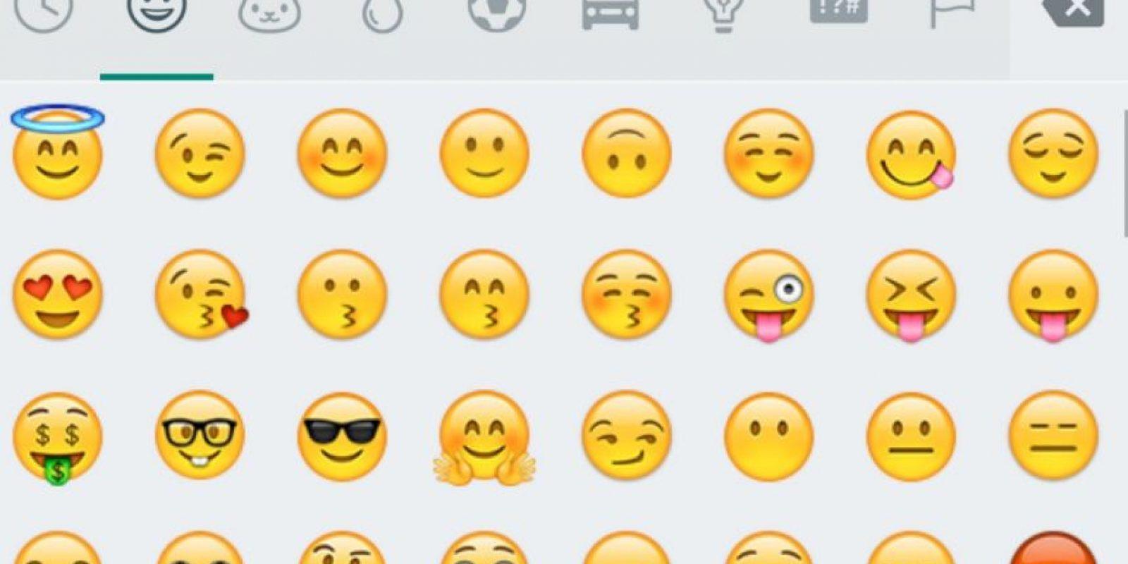 Nuevos emojis estarán disponibles en WhatsApp para Android. Foto:WhatsApp