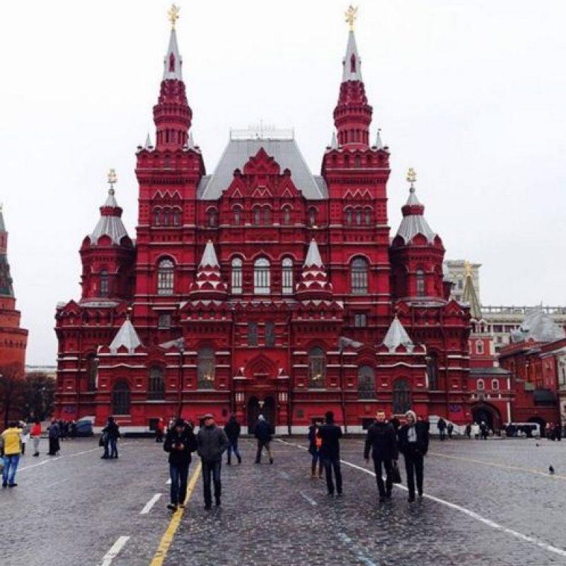 Plaza Roja de Moscú, Rusia. Foto:vía instagram.com/o_snnkv