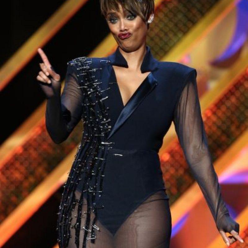 """Luego se convirtió en la productora y presentadora del reality show """"America's Next Top Model"""". Foto:Getty Images"""