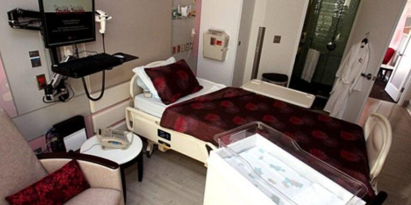 Así son las instalaciones en las que la Kim descansa con su retoño. Foto:Cedars Sinai