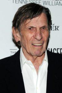 """Leonard Nimoy, mejor conocido como el """"Sr. Spock"""". Foto:Getty Images"""