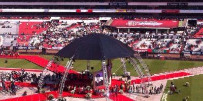El comediante Roberto Gómez Bolaños murió el 28 de noviembre de 2014 Foto:vía facebook.com/estadioazteca