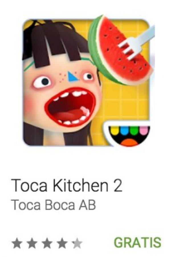 10- Toca Kitchen 2. Pueden cocinar lo que quieran y ofrecer a sus invitados recetas ya inventadas o sus propias creaciones. Foto:vía Google
