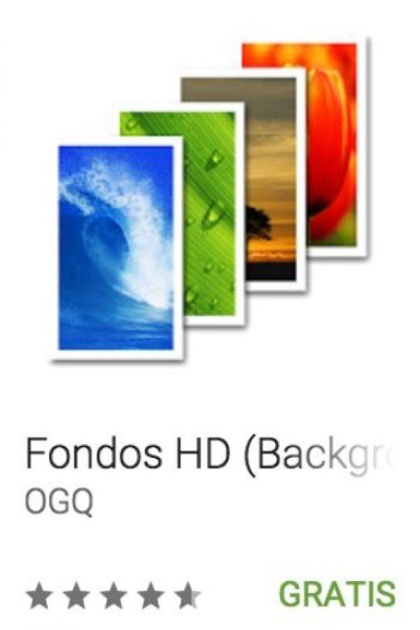 19- Fondos HD (Backgrounds HD). Cuenta con más de 80 millones de usuarios y 800 imágenes para su pantalla. Foto:vía Google