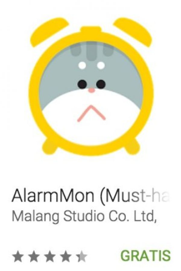 14- AlarmMon. Tiene distintos tipos de alarma como ruidosa, silenciosa, de juegos, normal, de voz o de canciones. Foto:vía Google