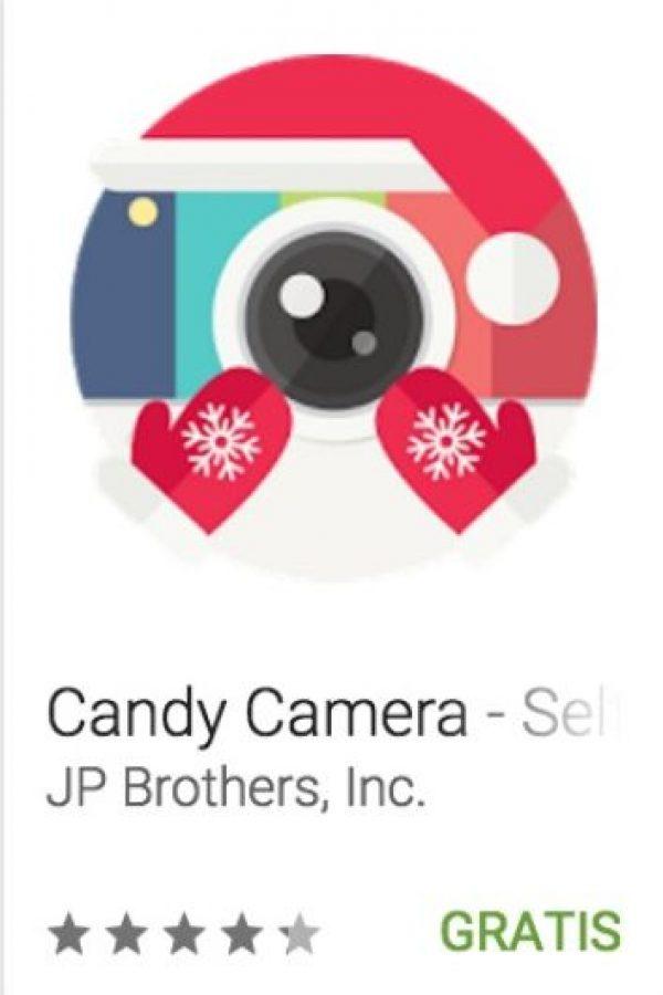 28- Candy Camera – Selfie Selfies. ideal para tomar fotos al contar con un efecto de belleza que ofrece blanqueamiento, elimininación de manches, maquillaje y varios efectos más en tiempo real. Foto:vía Google