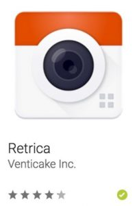 30- Retrica. Tiene opciones como filtros en vivo, diseño, edición, opciones para compartir en redes sociales o de forma secreta. Foto:vía Google