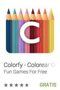34- Colorfy – Colorear Gratis. Escojan su color favorito y den su toque especial en muchos de los hermosos dibujos para colorear. Foto:vía Google