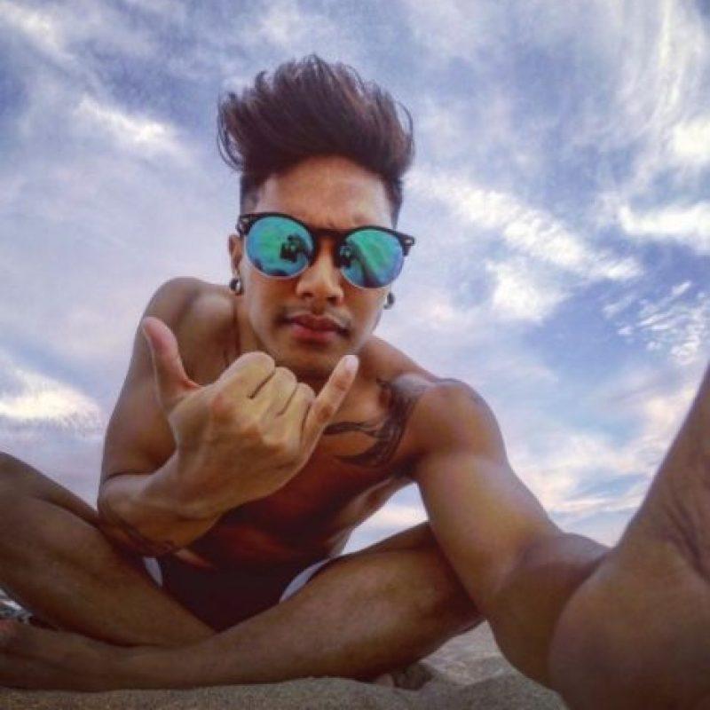 Aunque tiene novia, es un galán en Instagram. Foto:vía instagram.com/markvillaver