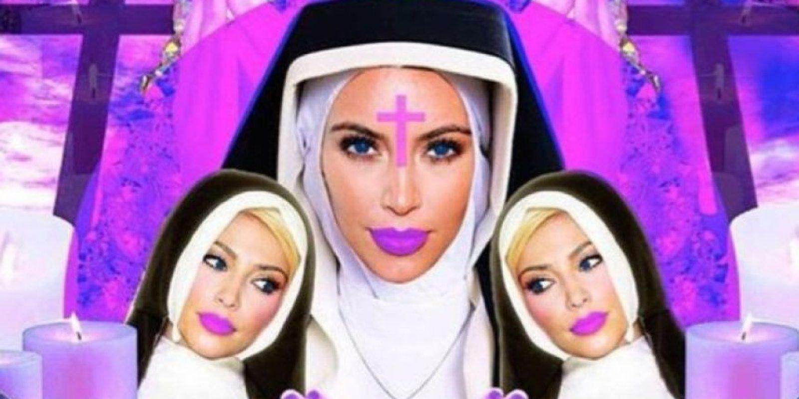 O una figura religiosa Foto:Twitter
