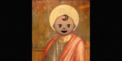 Ahora muchos identifican a Saint con este emoji de un bebé. Foto:Twitter