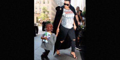 O como el clon de Kanye West. Foto:Twitter