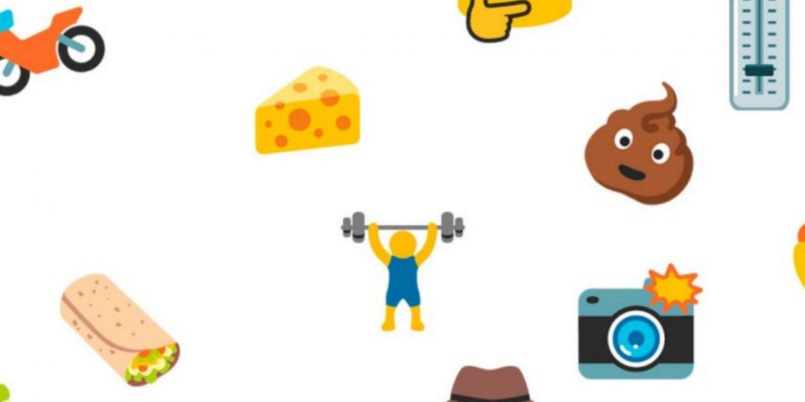 Los nuevos emojis en Android. Foto:vía emojipedia.org