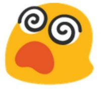 Ojos de espiral. Foto:vía emojipedia.org