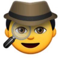 Detective. Foto:vía emojipedia.org