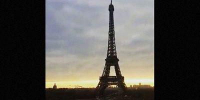 Torre Eiffel en París, Francia. Foto:vía instagram.com/davidcao13