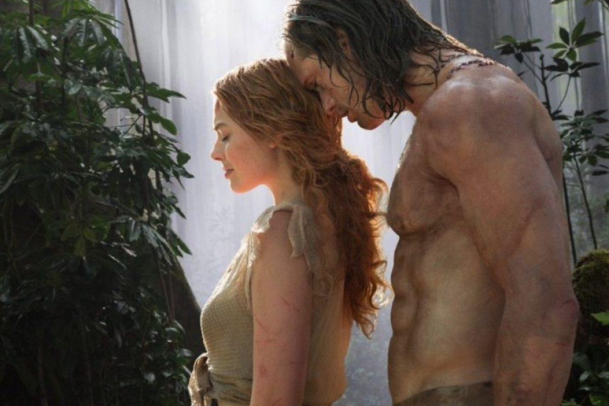 """Recientemente, Warner Bros reveló las primeras imágenes de la cinta """"The Legend of Tarzan"""" Foto:Warner Bros."""