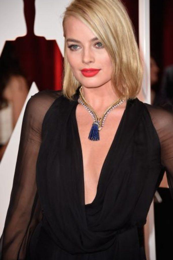 Por su parte, Margot Robbie es una actriz australiana de 25 años. Foto:Getty Images