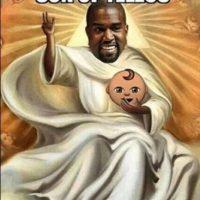 """Y Kanye West es apodado """"Yeezus"""" por el disco que lanzó en 2013 con este nombre Foto:Twitter"""
