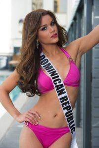 Clarissa Molina es la encargada de representar a República Dominicana Foto:vía missuniverse.com