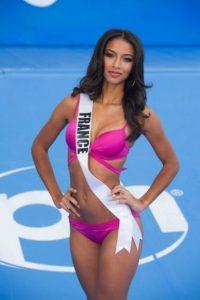 Flora Coquere es madre de tres pequeños y es la representante de Francia. Foto:vía missuniverse.com