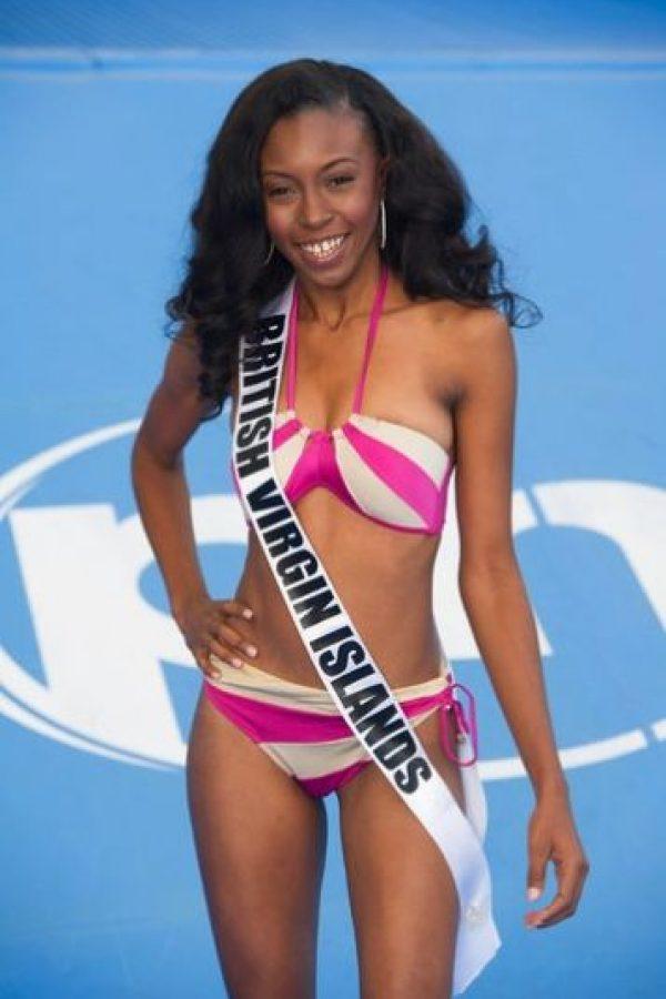 El rostro de Islas Vírgenes Británicas Adorya Baly. Foto:vía missuniverse.com