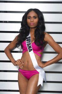 La representante de Guyana es Shauna Ramdyhan Foto:vía missuniverse.com