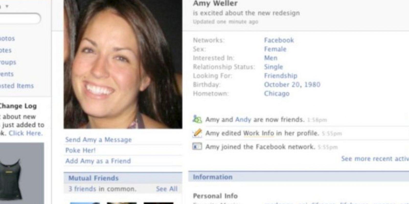 2007. Se le trataba al usuario en tercera persona. Foto:vía Facebook.com