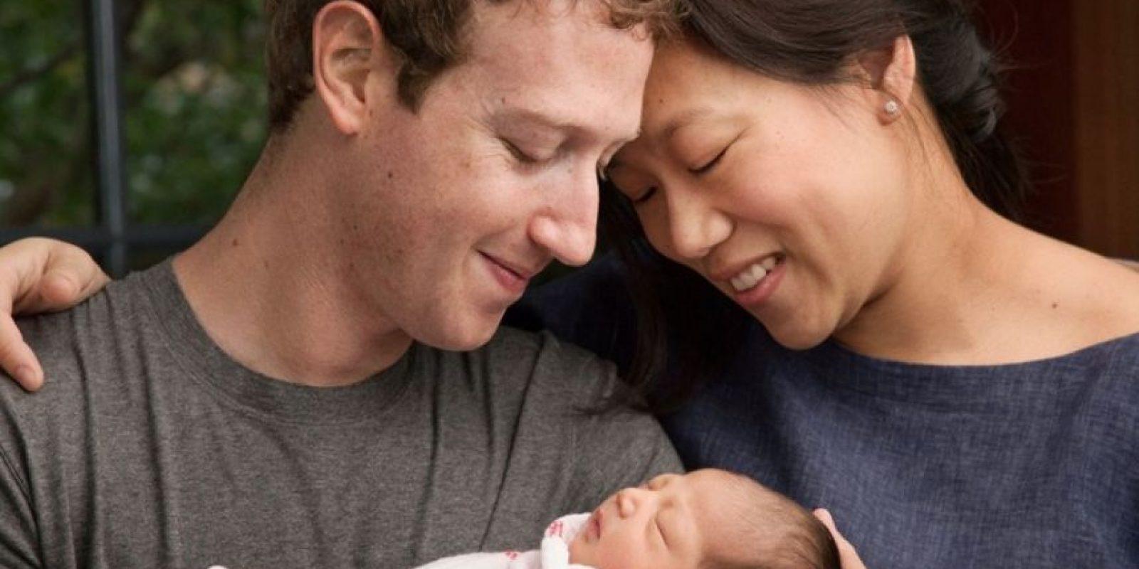 Max nació el pasado 1 de diciembre. Foto:facebook.com/zuck