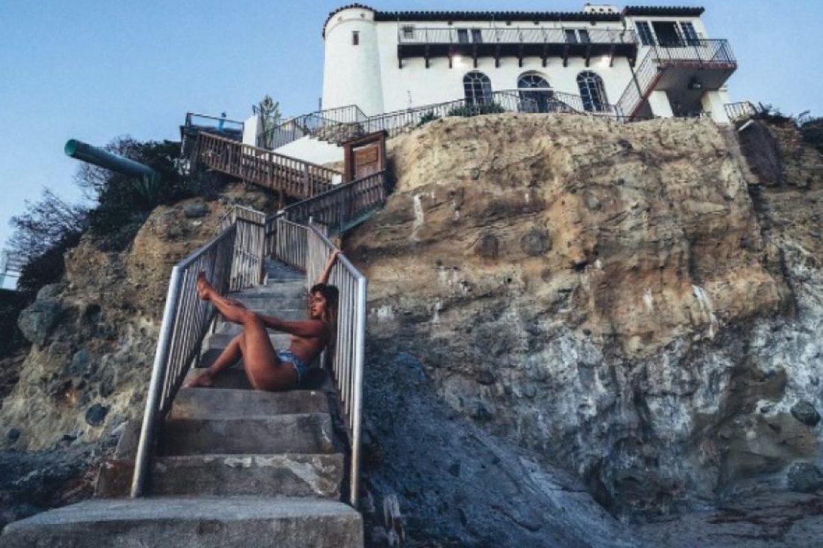 Y en los destinos paradisíacos más lujosos. Foto:vía instagram.com/jessicaburciaga