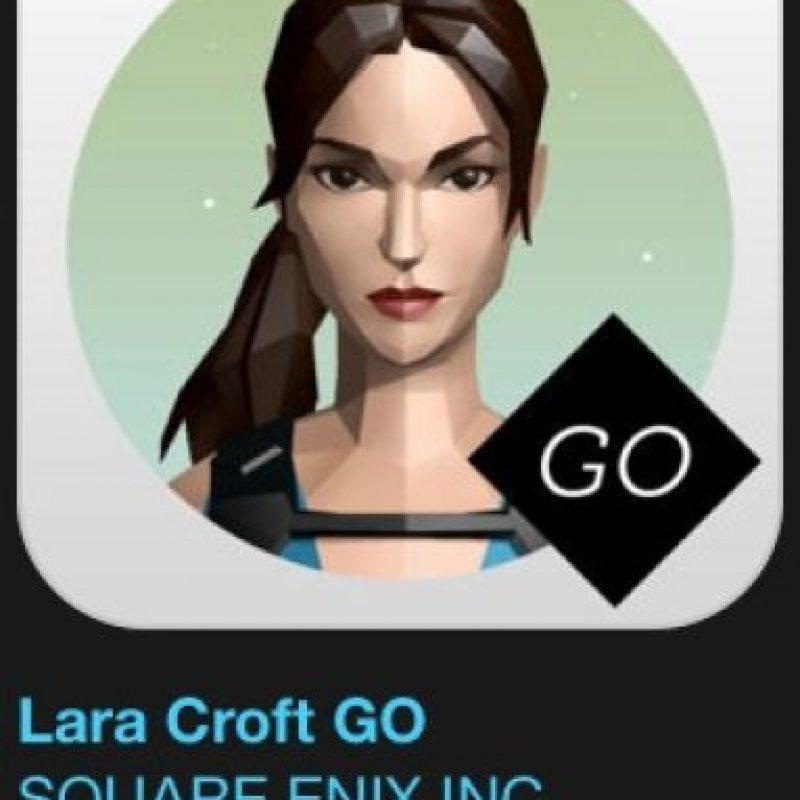 """1- """"Lara Croft GO"""". Designado como juego del año. Cuesta 7 dólares. Acompañen a Lara Croft por un mundo de elegantes puzzles minimalistas. Foto:vía Apple"""