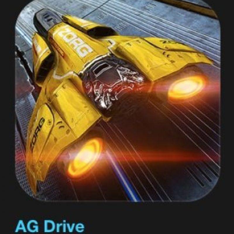 """10- """"AG Drive"""". Cuesta cuatro dólares. Una visión épica del futuro, AG Drive los lleva en el viaje de su vida a medida que avanzan en una rápida carrera antigravedad y compiten en pistas espectaculares en una ciudad de la Tierra del futuro. Foto:vía Apple"""